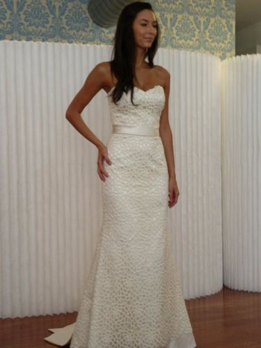 Wtoo zora gown this dress is so delicate and classic looking