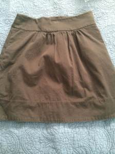 LOFT grey skirt with pockets | 0 | $10