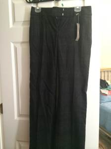 LOFT NWT Wool pants | grey plaid | Size 2 | $15