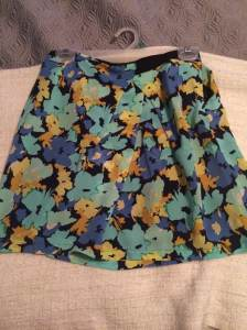 J Crew floral skirt | size 2 | $15