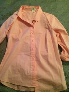 J Crew button up | pink | XS | $15