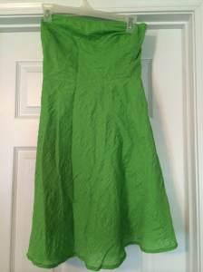 J Crew Embossed Strapless dress | Size 2 | $20