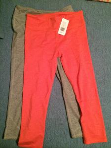 Fabletics workout capris | small | $25 for both