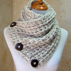 Harbor Scarf (in Burnt Orange)