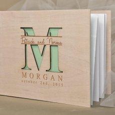 Customized Wedding Guest Book