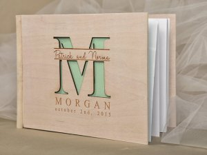 Customized Wedding Guest Book