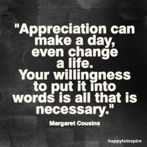 appreciation can make a day even change a life copy